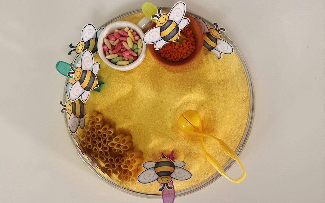 Méhecskés érzékelő doboz