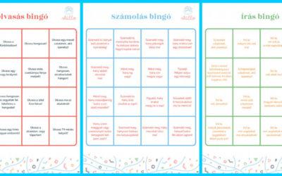 Nyári bingó – inspiráció olvasáshoz, íráshoz, számoláshoz