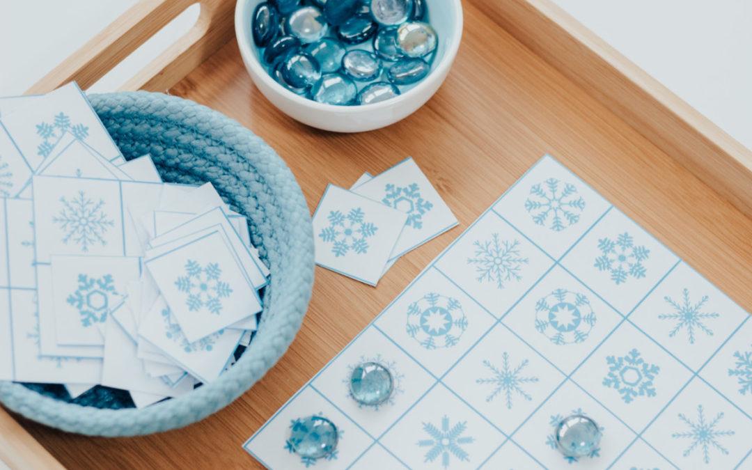 Hópelyhek – 3 játékötlet :)