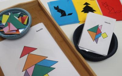 Fejlesztőjáték – Tangram lépésről lépésre