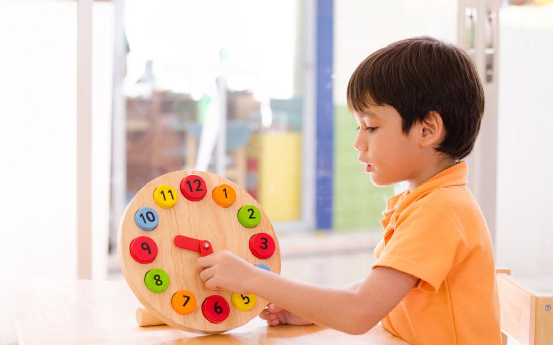 Időbeli tájékozódás fejlődése gyermekkorban