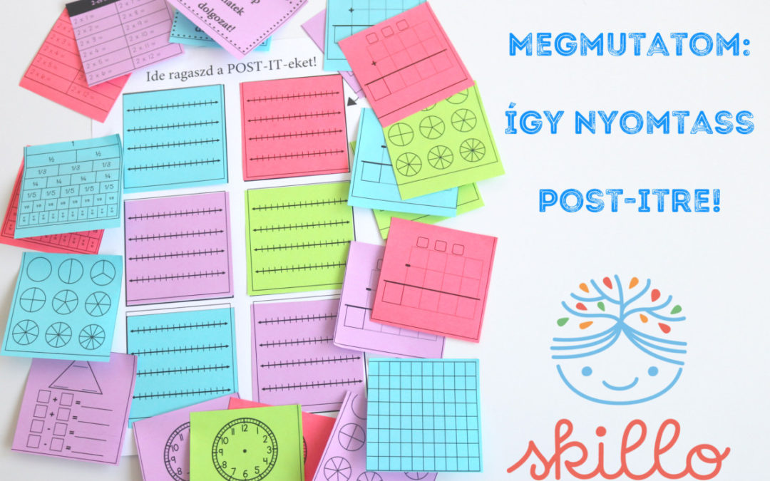 Így nyomtass POST-IT-re!