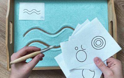 Festett sóba formák rajzolása