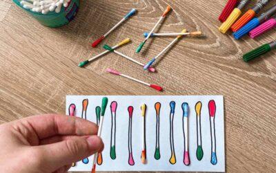 Ötletek fültisztító pálcikával – avagy ceruzafogás előkészítése
