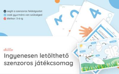 Szenzoros játékcsomag – letölthető PDF