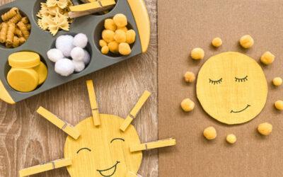 Napocskás kézművesek – egyszerű, 5 perces ötletek